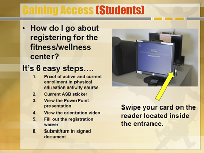 Gaining Access (Students)
