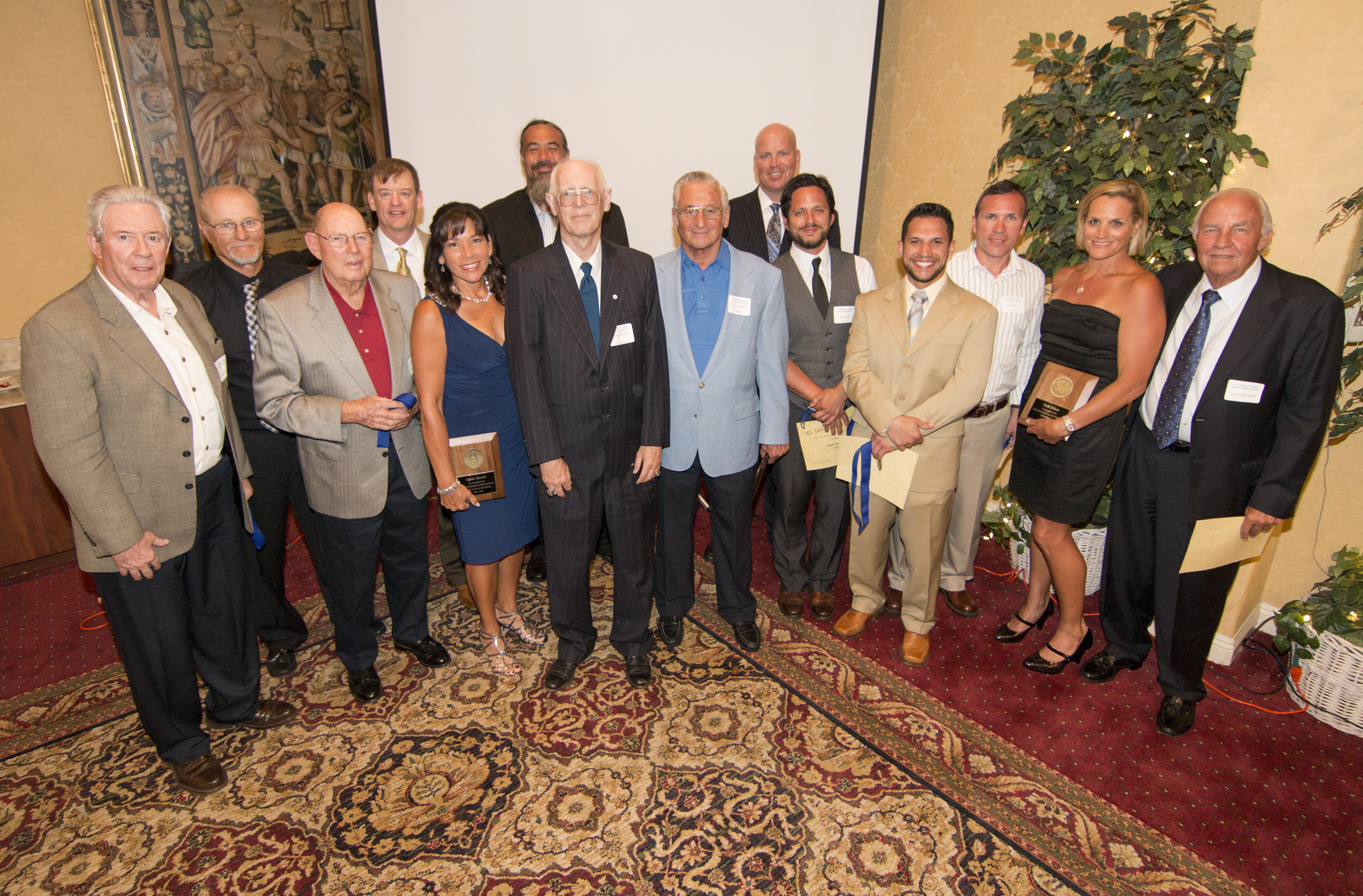 2014 El Camino College Athletic Hall of Fame Inductees