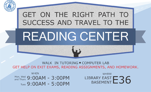 Reading Success Center Flyer 1